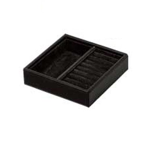【まとめ買い10個セット品】シンビ ジュエリーBOX(ジュエリーボックス) JB-101 黒