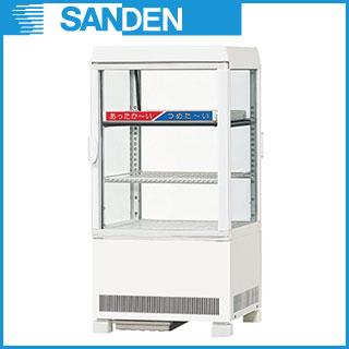 【業務用】冷蔵ショーケース サンデン 卓上タイプ AG-H60XE 【 HOT&COLDタイプ 】 【 メーカー直送/後払い決済不可 】【PFS SALE】