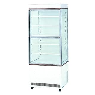 【業務用】冷蔵ショーケース サンデン タテ型タイプ[3面ガラス・上下扉] agv-700z 【 メーカー直送/後払い決済不可 】【PFS SALE】