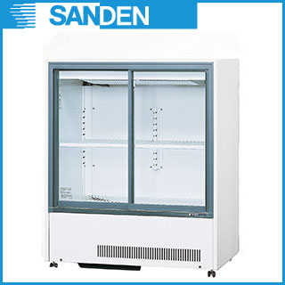 【業務用】冷蔵ショーケース サンデン キュービックタイプ MU-330XE 【 キュービック標準型タイプ 】 【 メーカー直送/代引不可 】【PFS SALE】