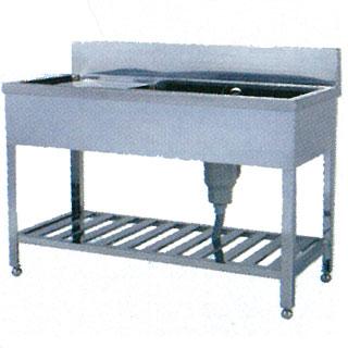 【業務用】ステンレス シンク 一槽水切付シンク STZ型 STZ-1060 1000×600×800 【 メーカー直送/代引不可 】