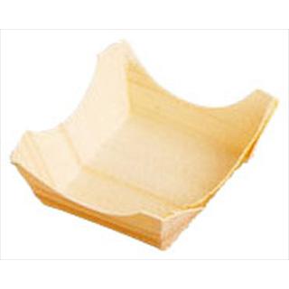 【まとめ買い10個セット品】経木容器 角型(100枚入) 23900 特小
