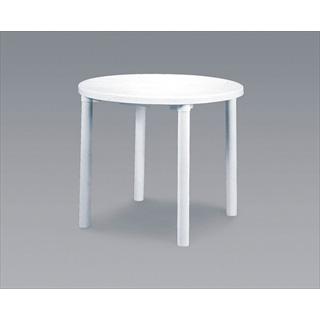 【まとめ買い10個セット品】カフェテーブル 900 丸