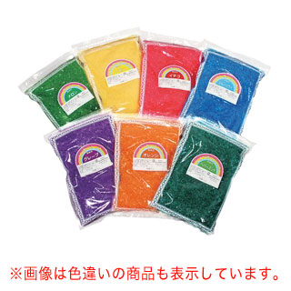 【まとめ買い10個セット品】色付ザラメ 1kg メロン