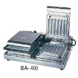 電気式 チェルキー バータイプ BA-400[2連式] 【 メーカー直送/代金引換決済不可 】 【 チェルキー製造機器 】