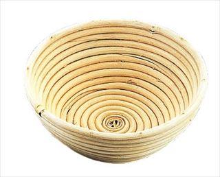 【まとめ買い10個セット品】Murano(ムラノ)籐製醗酵カゴ 丸型 24cm