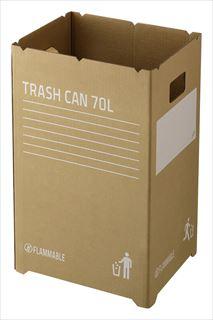 【まとめ買い10個セット品】 ダンボールゴミ箱 GGYC725 【ECJ】
