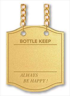 【即納】【まとめ買い10個セット品】シンビ ボトルキーパーBM-9 10枚入 ゴールド 【 ボトルキープタグ ボトル札 】【ECJ】