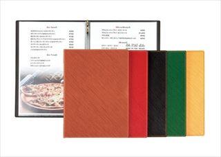 【まとめ買い10個セット品】【業務用】シンビ メニューブック GL-101 黒【5-1654-0103】
