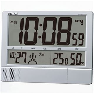 セイコー 電波プログラム付掛置兼用時計 SQ434S