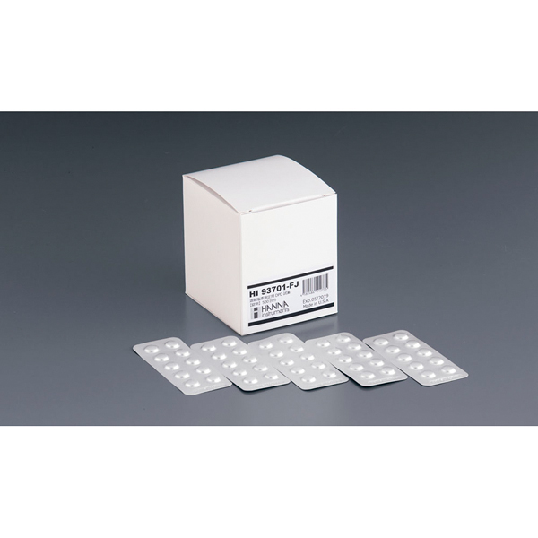 ハンナ DPD遊離塩素測定用 錠剤試薬 HI93701-FJ 【ECJ】