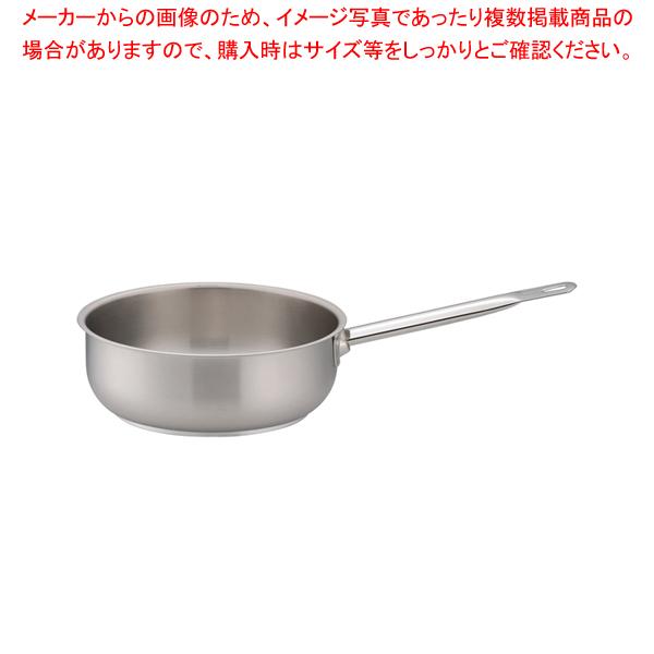パデルノ 18-10ソテーパン(蓋無) 1113-26 【ECJ】