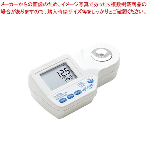 ハンナ デジタル屈折計(食塩) HI96821 【ECJ】