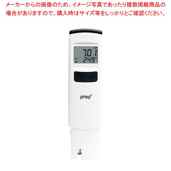 ハンナpH計ペップ HI98107N 【ECJ】