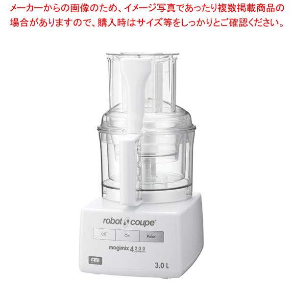 ロボ・クープ マジミックス RM-4200F 【ECJ】