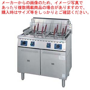 ガス 角型ゆで麺器 TU-90WN LPガス 【ECJ】