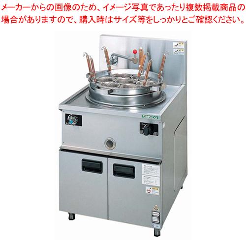 ガス中華ゆで麺器 TU-2N LPガス 【ECJ】