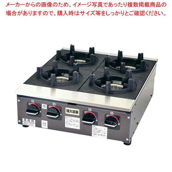 ビビンバコンロ 強火道楽 KBB8-4B 12A・13A【ECJ】【メーカー直送/後払い決済不可 】