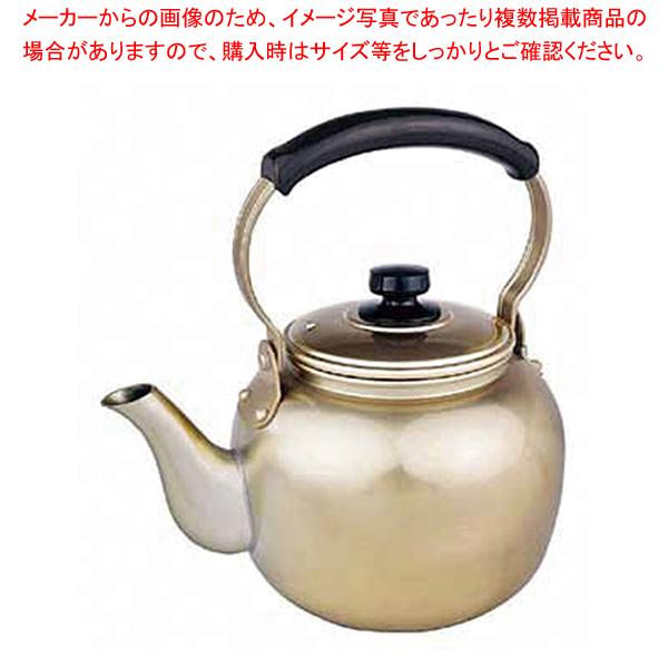 アカオ しゅう酸アルマイト湯沸 10l 【ECJ】