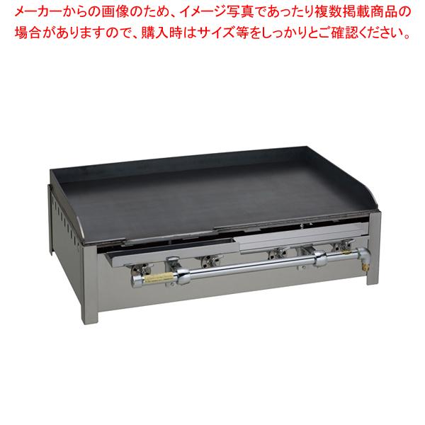台置き式 鉄板焼器 GR-74 都市ガス【ECJ】【メーカー直送/後払い決済不可 】