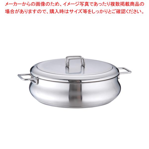 18-10タミー キャセロール(蓋付) 26cm 【ECJ】