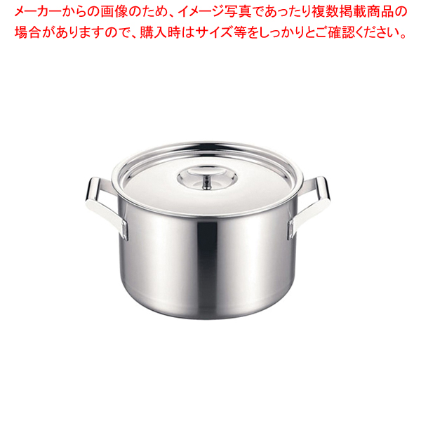 エレックマスター プロ 両手深鍋 24cm 【ECJ】