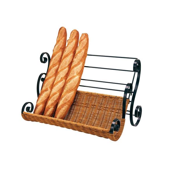 黒唐草 フランスパンスタンド P-22-CK【ECJ】【厨房用品 調理器具 料理道具 小物 作業 】