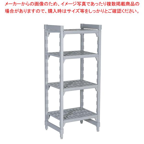 540ベンチ型 カムシェルビングセット 54×107×H214cm 4段【ECJ】【シェルフ 棚 収納ラック 】