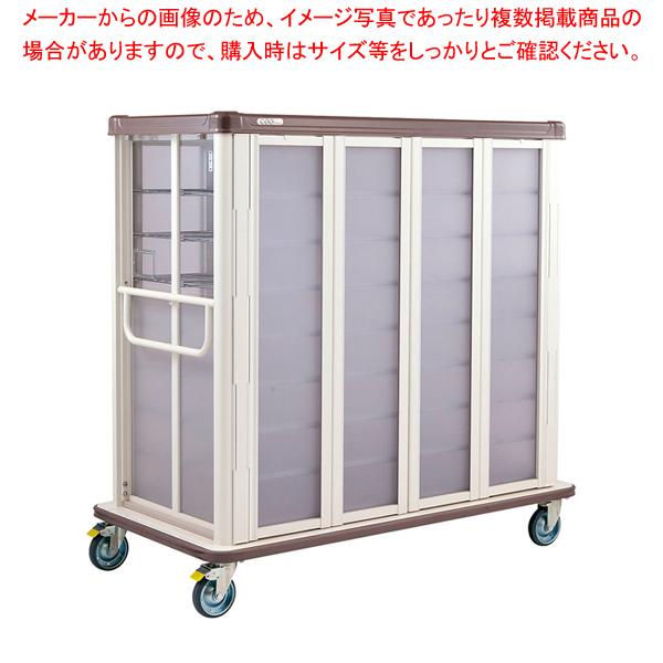 常温配膳車 扉式 ワイドタイプ JCTW30SPシュガーピンク 【ECJ】