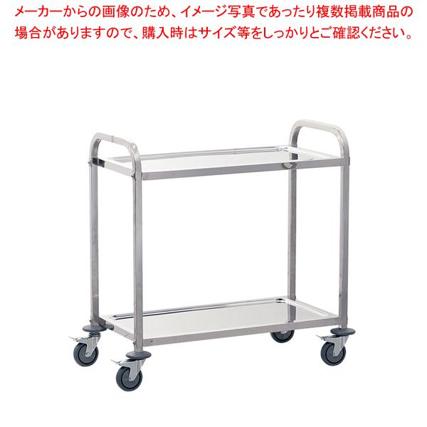 遠藤商事 / TKG サイレント キッチンワゴン 2段 M【ECJ】