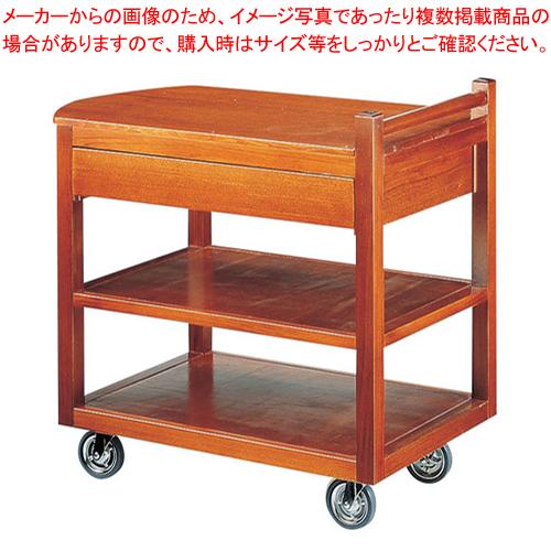 SA和風サイドテーブルワゴン ST-3【 サービスワゴン 食品運搬台車 】 【ECJ】