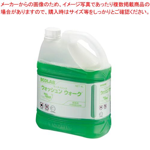 サニタイジングウォッシュンウォーク (床用クリーナー)4L【 フロアー 掃除関連品 】 【ECJ】