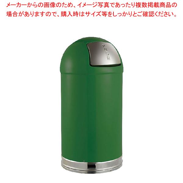 トラスト ラウンドトップ ダストボックス 2363 56L グリーン 【ECJ】
