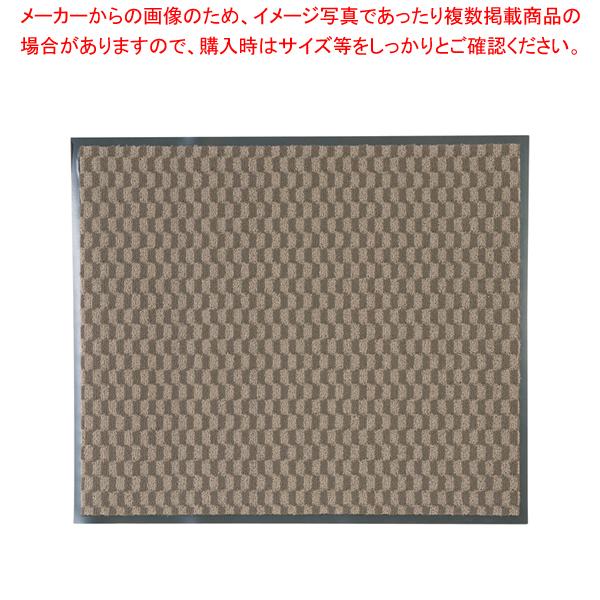 茶【 】 玄関入口用マット 3M 【ECJ】 エンハンスマット3000 900×750mm