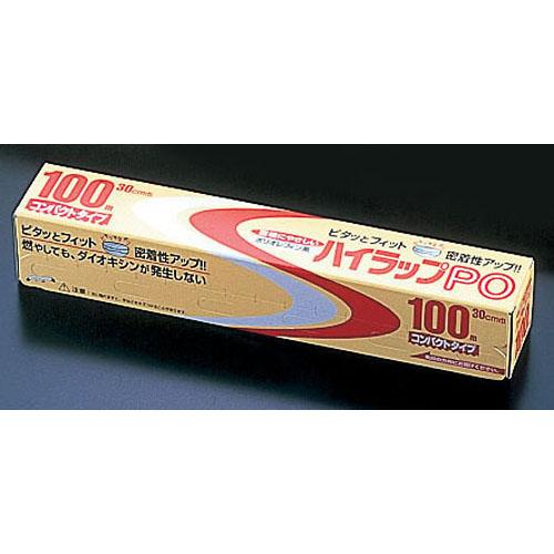 三井 ハイラップPO 幅30cm×100m ケース単位30本入【 ラップ 保管 かぶせる 料理 】 【ECJ】