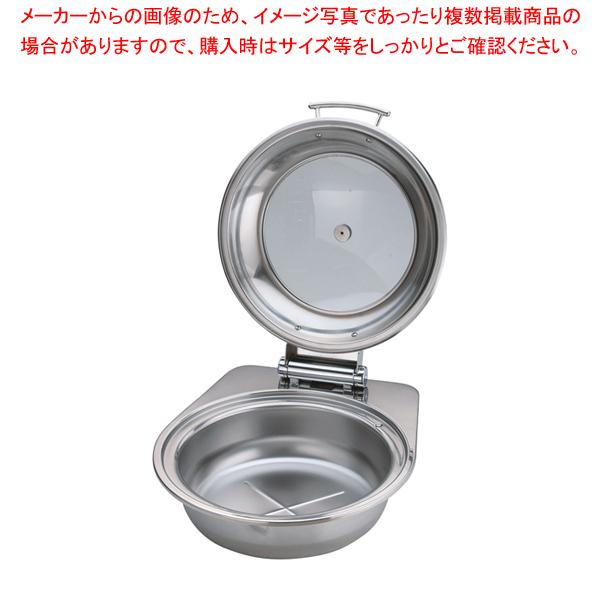 最適な材料 KINGO IH丸チェーフィング FP無 ガラスカバー式 小 D105 【ECJ】, ホウジョウマチ 0a5a4cbb