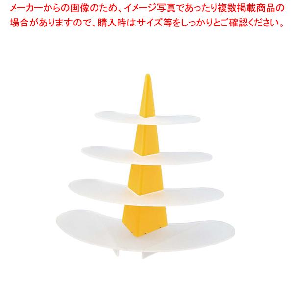 ライトシェイプサービングスタンド Cod.301 マルテラート【ECJ】【食器 トレー トレイ 盆 飾り台 ショープレート 】