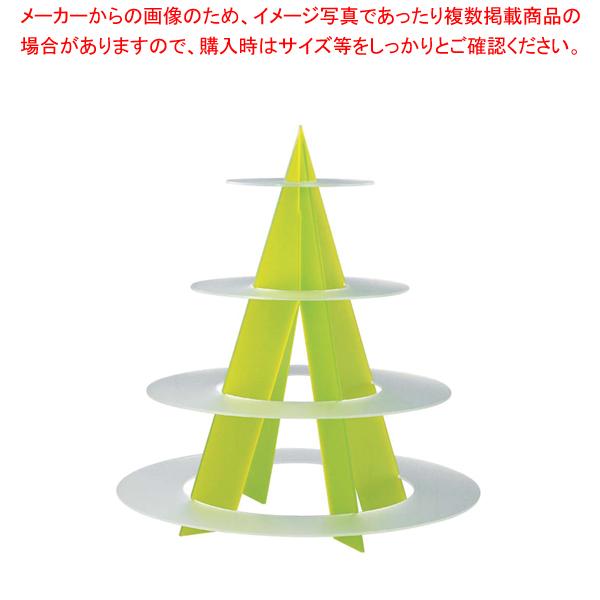ライトシェイプサービングスタンド Cod.304 マルテラート【ECJ】【食器 トレー トレイ 盆 飾り台 ショープレート 】