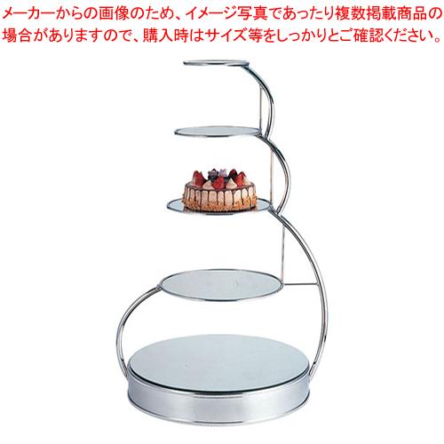 UK18-85段ウェディングケーキスタンドA 0206 0015【 ウエディングケーキスタンド 結婚式 ケーキ 台 】 【ECJ】