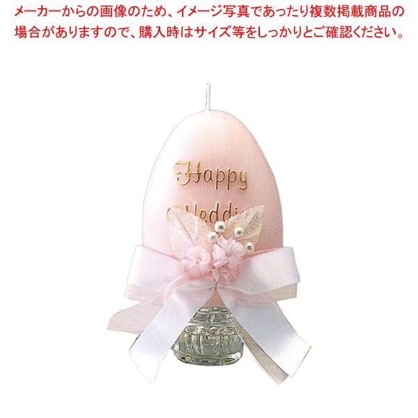 メモリアルキャンドル オーバル (P)ピンク 【ECJ】