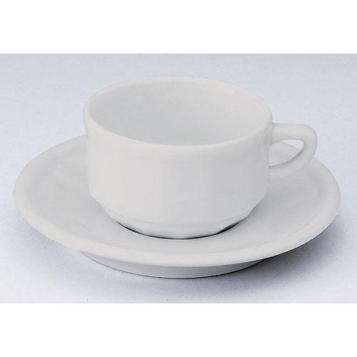フローラ モカカップ&ソーサー(6客入) PTFL M FL ホワイト【ECJ】【APILCO【アピルコ】 洋食器 】