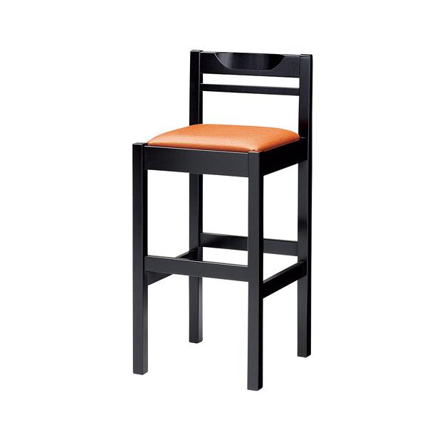 和風スタンド椅子 SCW-3040・B・ST 【ECJ】