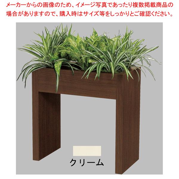 新感覚パーテーション(造花付) GR2421 60×60 CR 【 人工樹木 作り物 】 【ECJ】