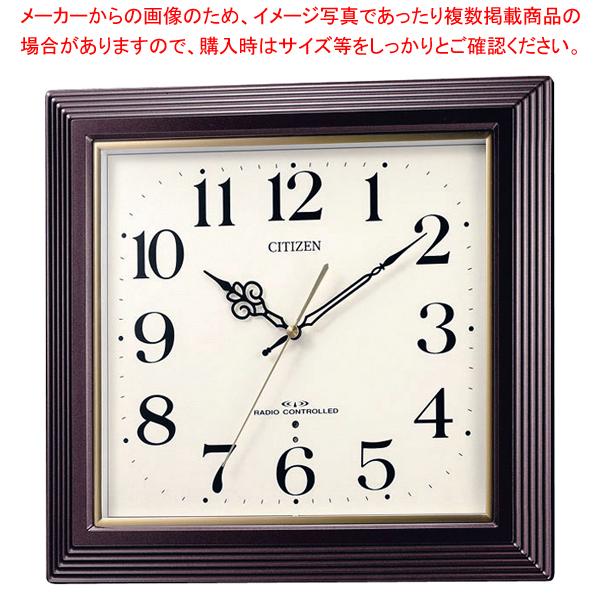 シチズン 電波時計 4MY803-006【ECJ】【厨房用品 調理器具 料理道具 小物 作業 】