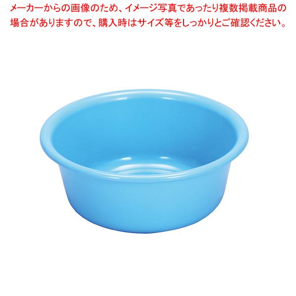 8-0266-0601 7-0262-0601 ATL02036 国産品 001-0010958-001 タライ プラスチック プラッチック たらい ブルー [正規販売店] トンボ ECJ 36型 洗い桶 青 業務用 洗濯