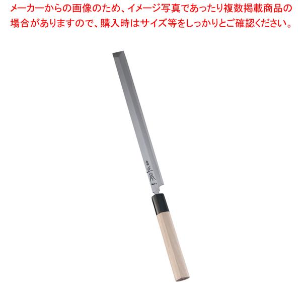 正本 本霞・玉白鋼 蛸引刺身庖丁 24cm 【ECJ】
