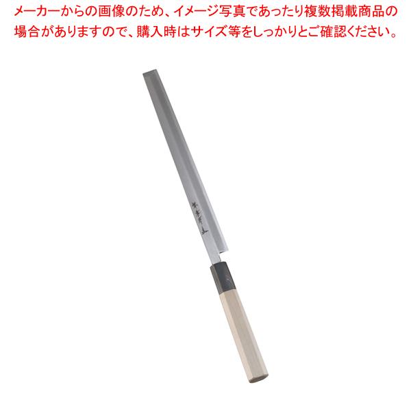 堺孝行 シェフ和庖丁 銀三鋼 蛸引 24cm 【ECJ】