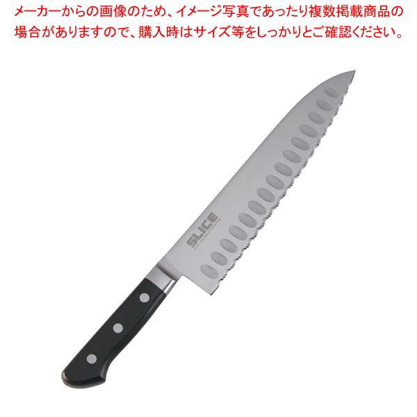 スライス 波刃モデル 牛刀 24cm【 洋包丁 牛刀 】 【ECJ】