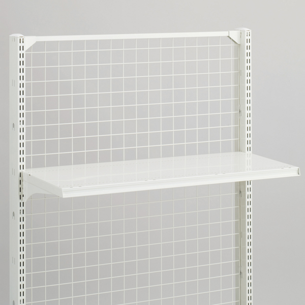 スチール什器用棚板セット W900×D900 ホワイト 【ECJ】