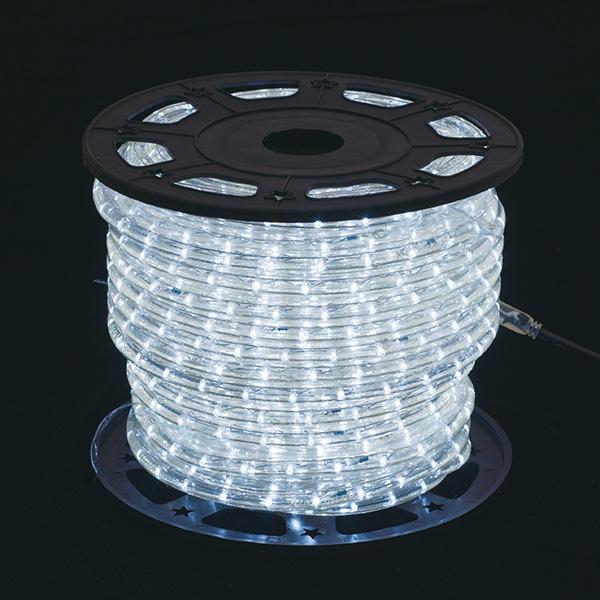 新360°発光ロープライトII ホワイト 【ECJ】
